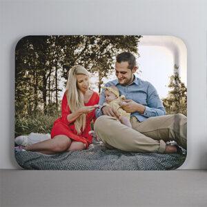 Large tray One Two Tray dienblad met foto van familie