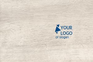 Dienblad met logo als eindejaarsgeschenk voor klanten.