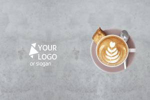 Dienblad met koffie